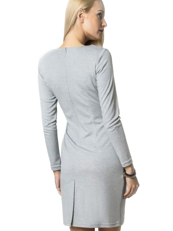 Agnes dress in gray