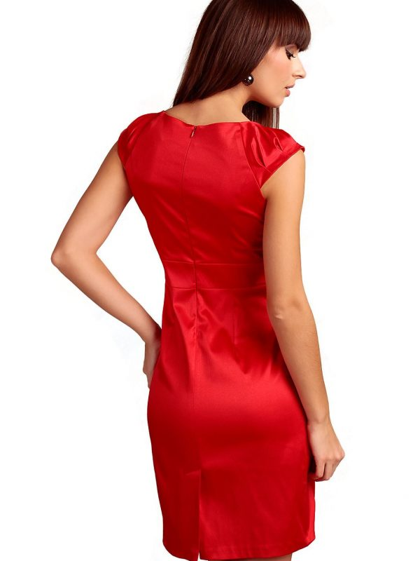 Bianka dress in red