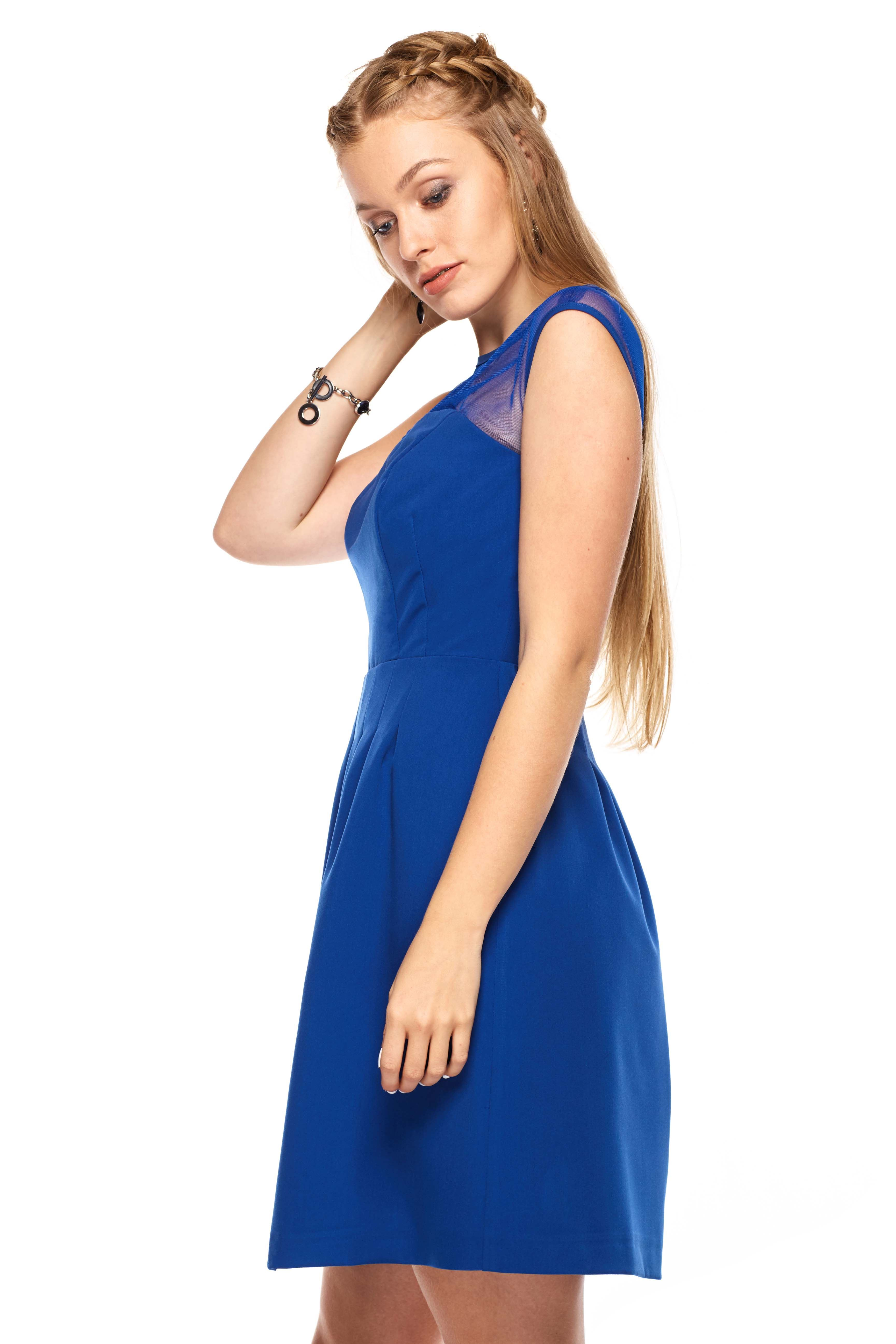 Catherine dress in blue