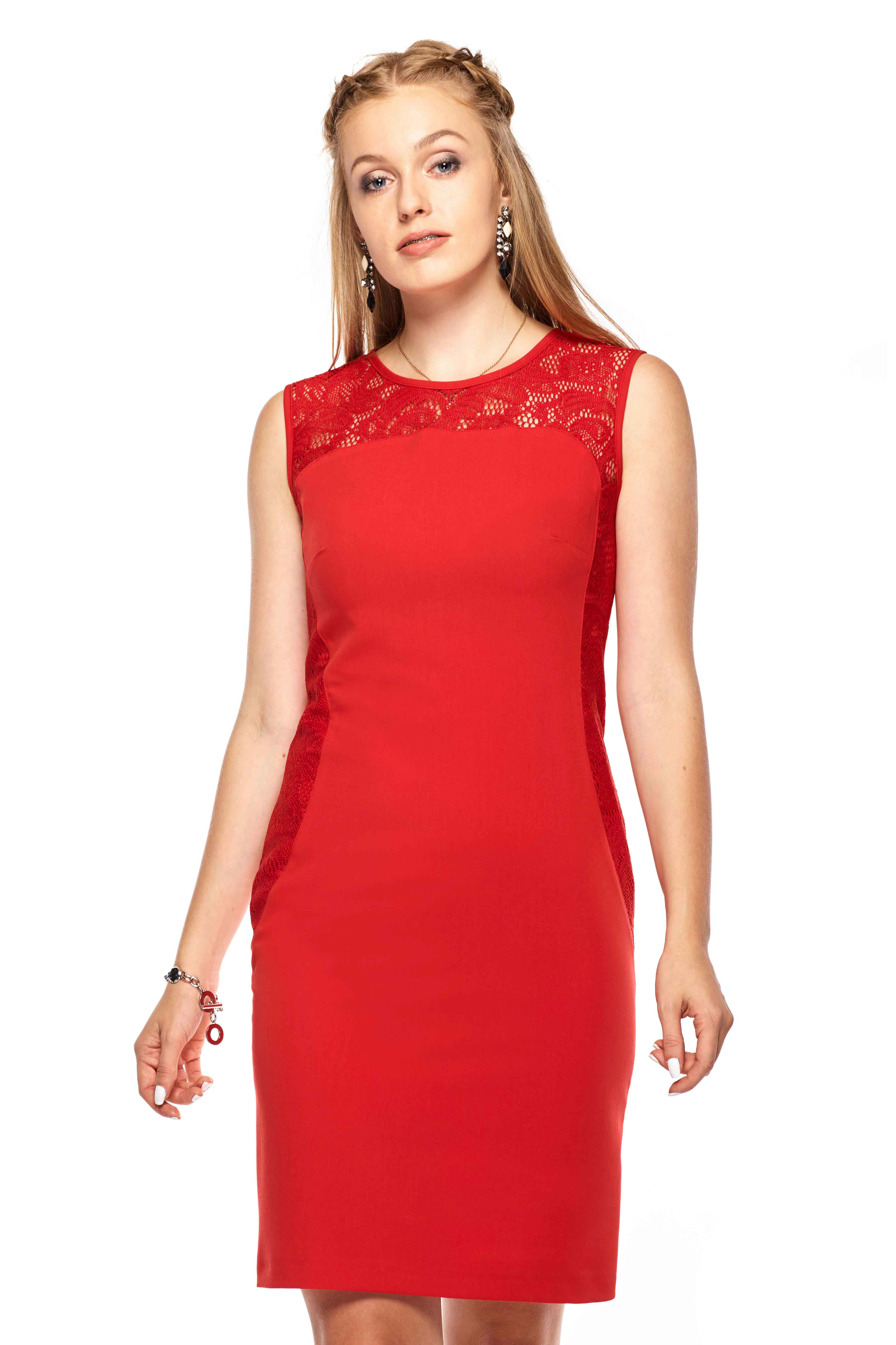 Diana dress in red