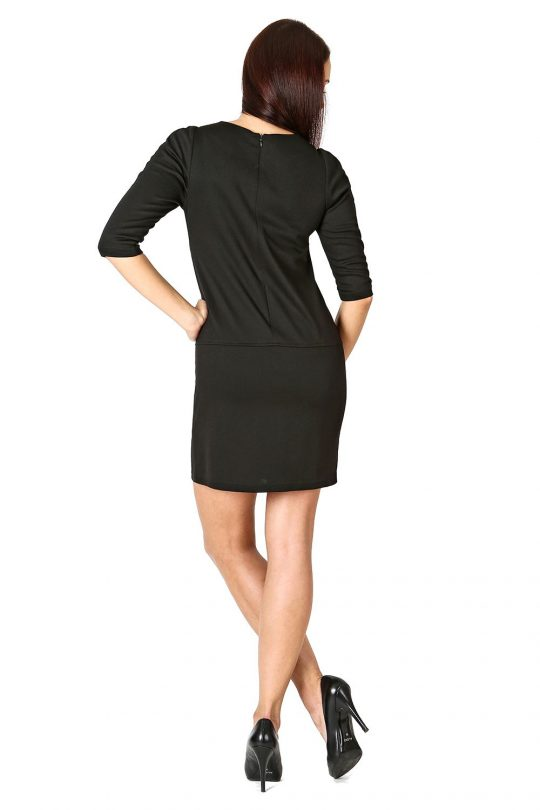 Elena dress in black