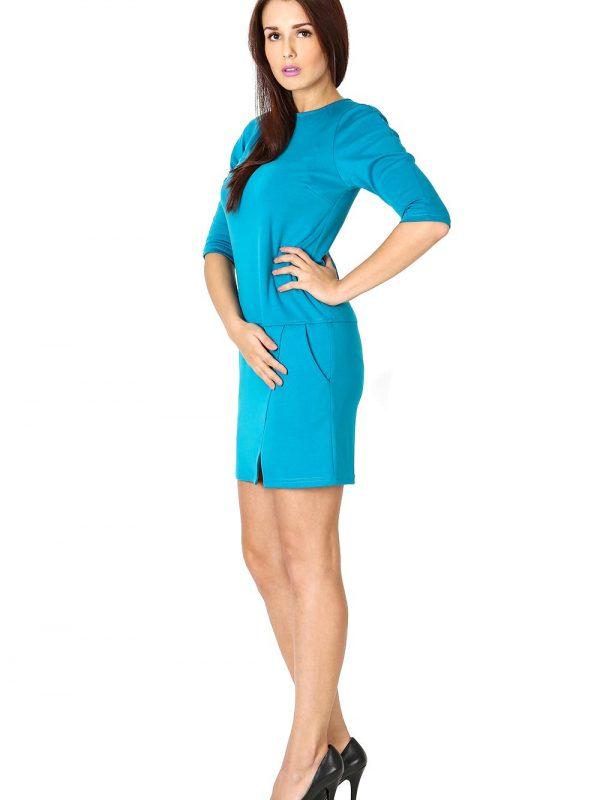 Sukienka Elena w kolorze błekitnym