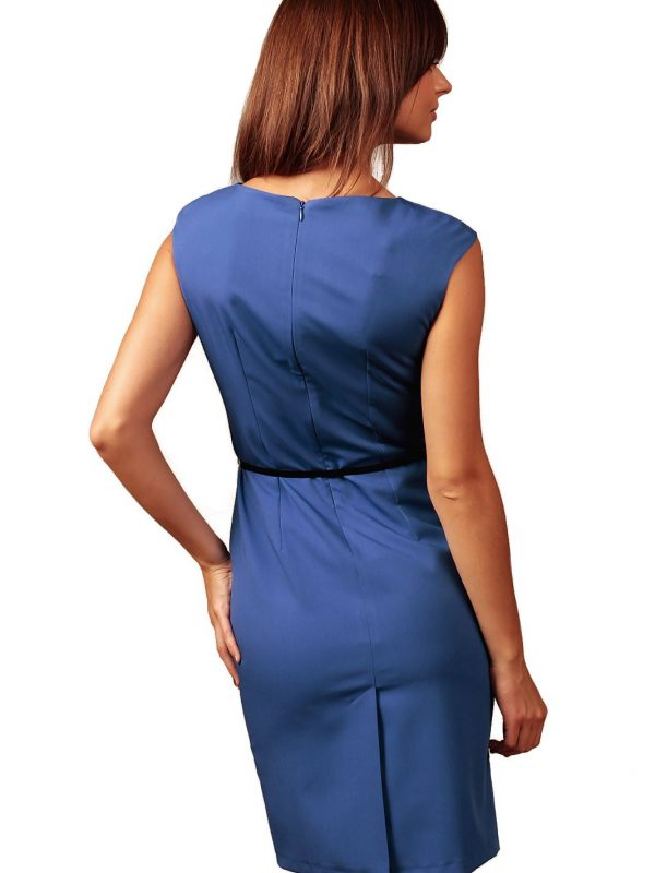 Estera dress in cornflower blue