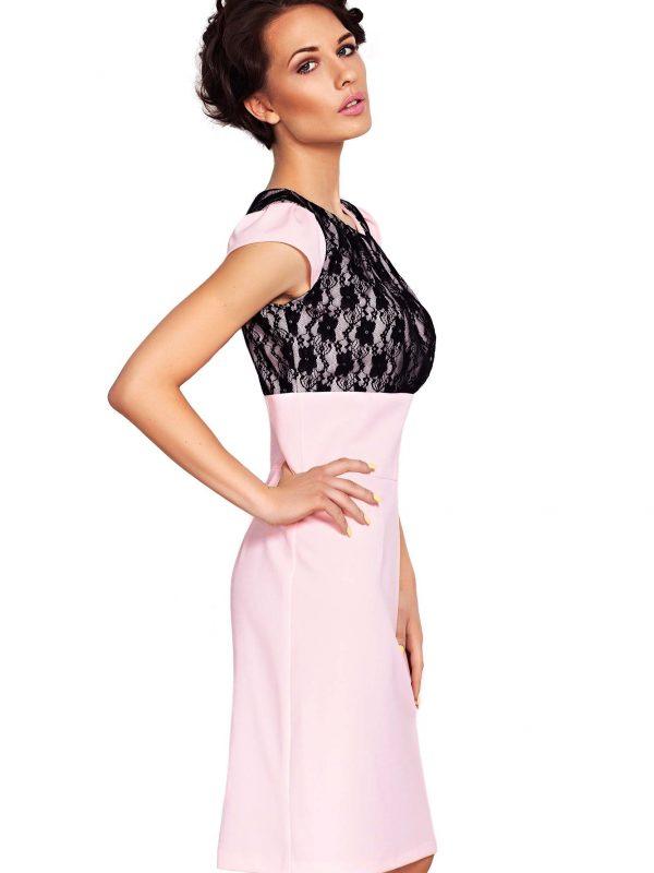 GABI Dress in powdered color