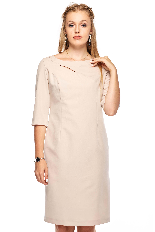 Sukienka Inga w kolorze beżowym