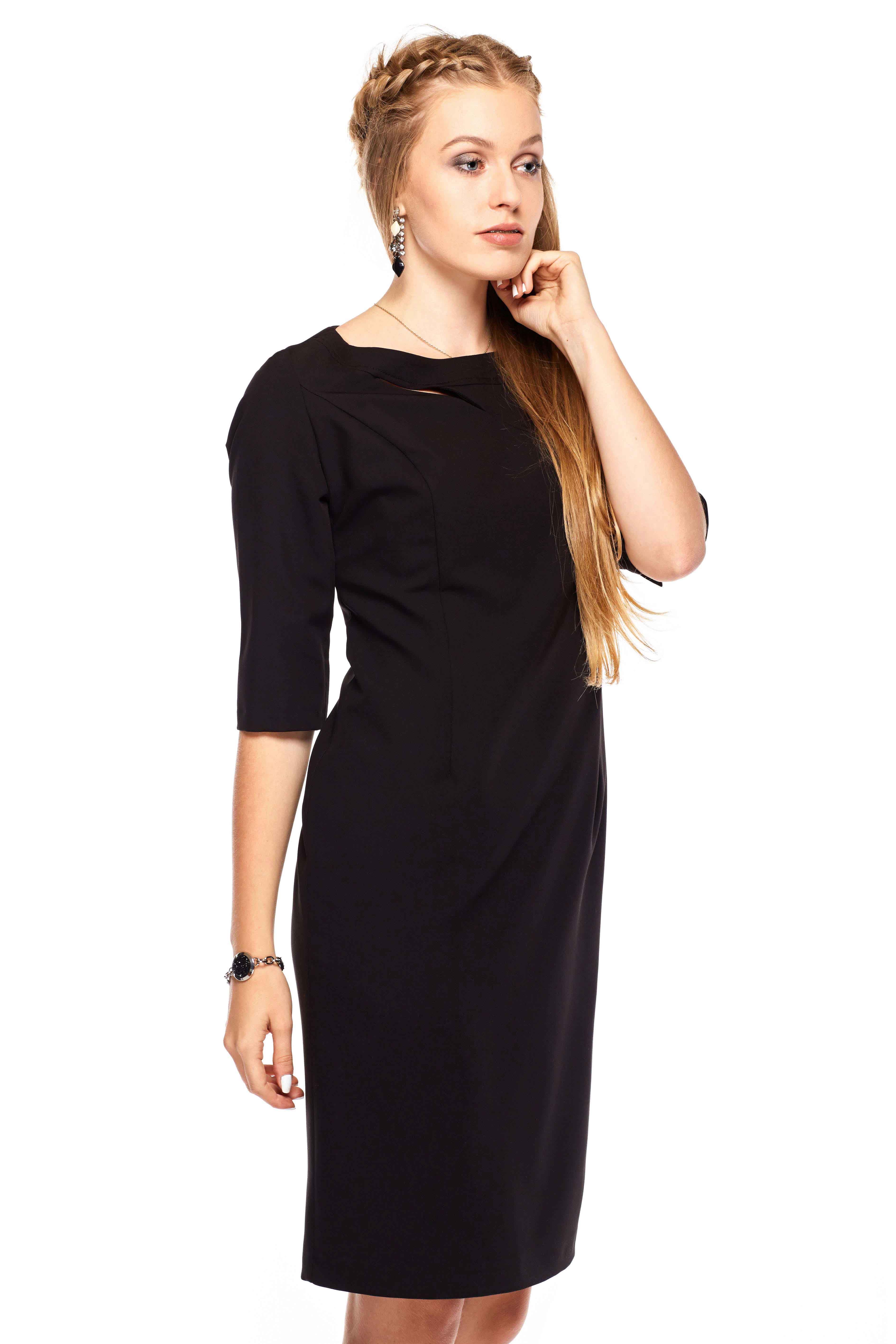 Inga dress in black