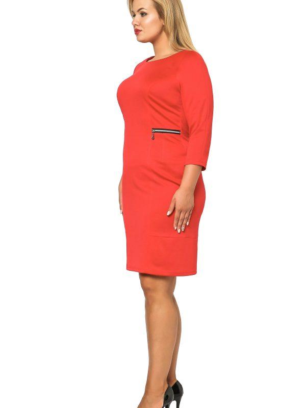 Melanie dress red