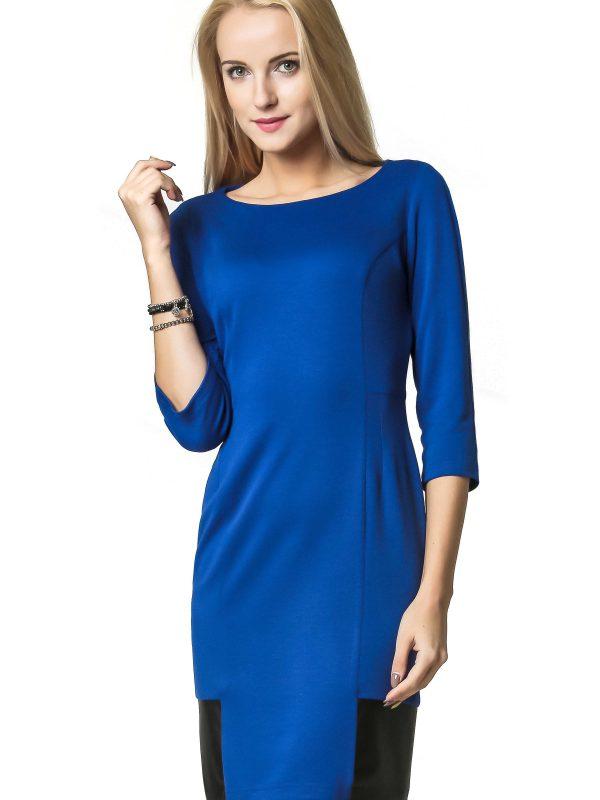 Sukienka Mira w kolorze chabrowym