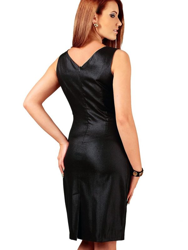 Oriana dress black with silver