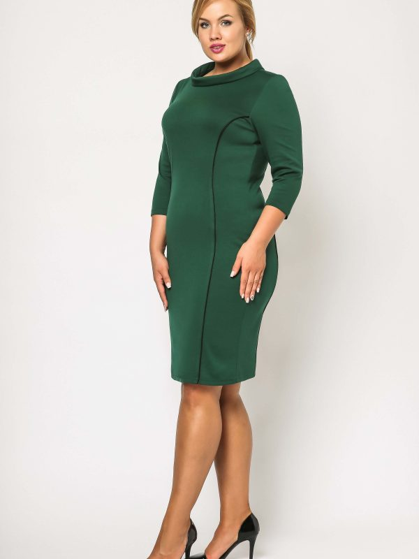 Pauline dress in green