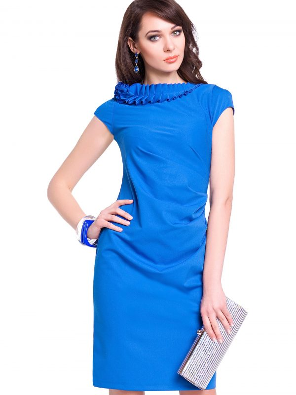 Cornflower Salome dress