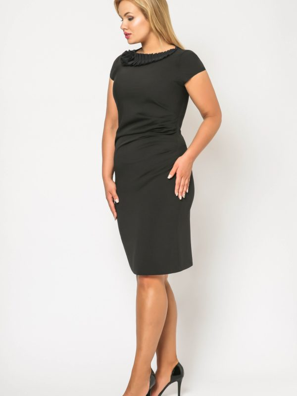 Salome dress in black