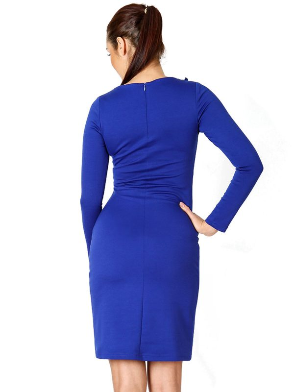 Sara dress in blue
