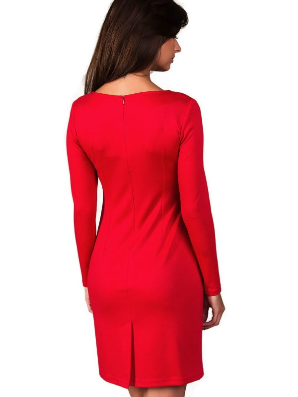 Sophie dress in red