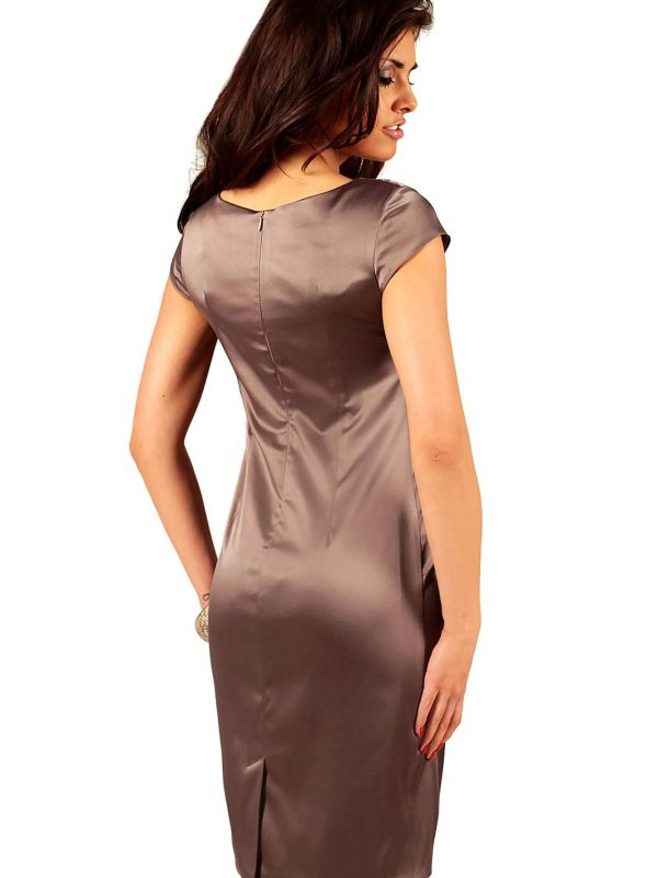Tamara dress in brown