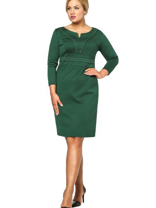 Sukienka Tamara Knitwear w kolorze zielonym