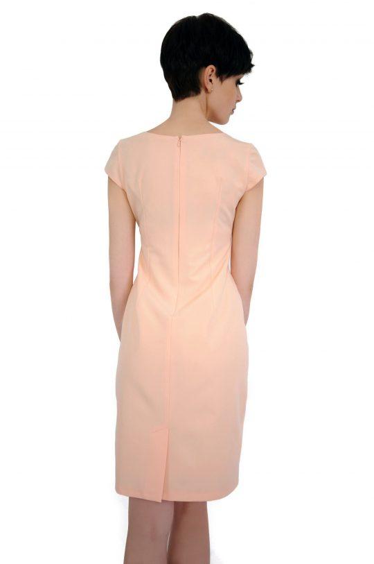 Tamara dress in powder color