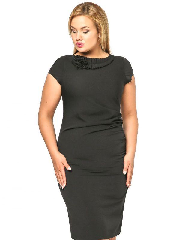 Sukienka Salome w kolorze czarnym