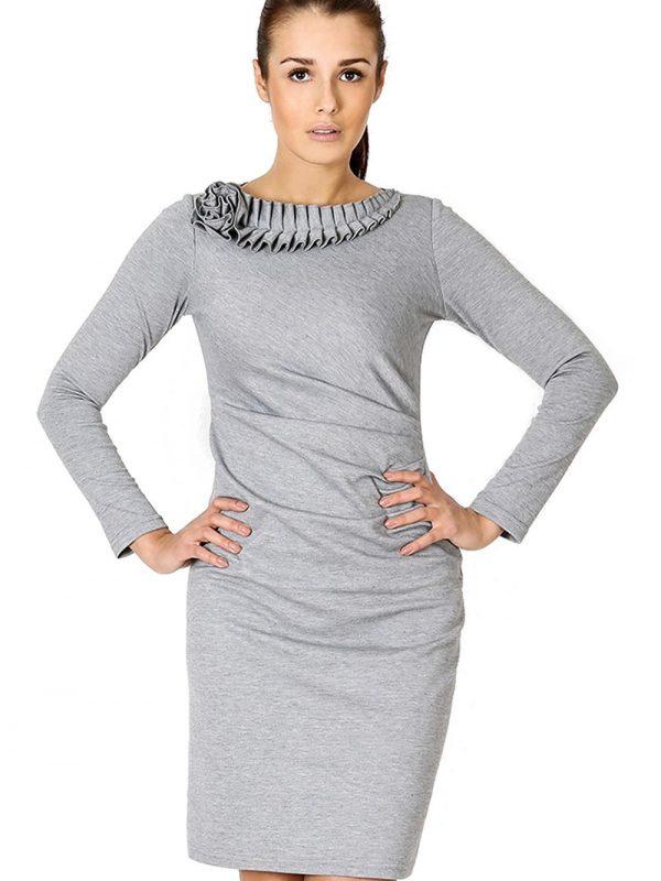 Sukienka Sara w kolorze szarym