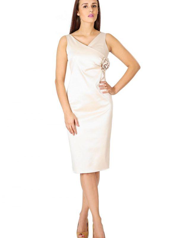 Aphrodite ecru dress