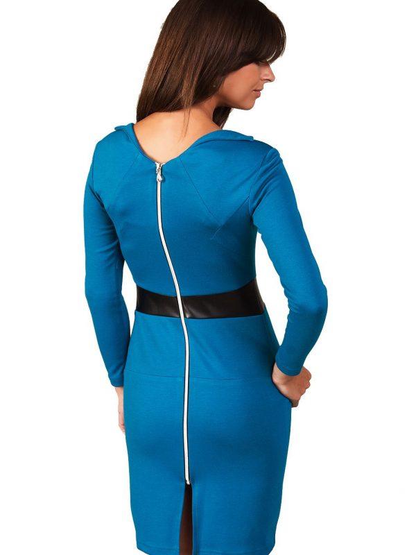 Astrid dress in Parisian blue