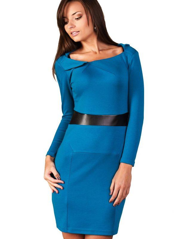 Sukienka Astrid w kolorze paryski błękit