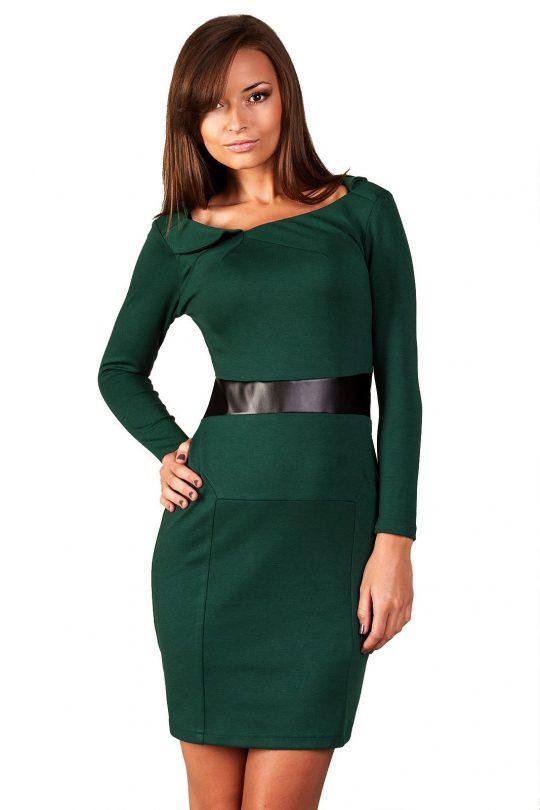 Sukienka Astrid w kolorze ciemna zieleń