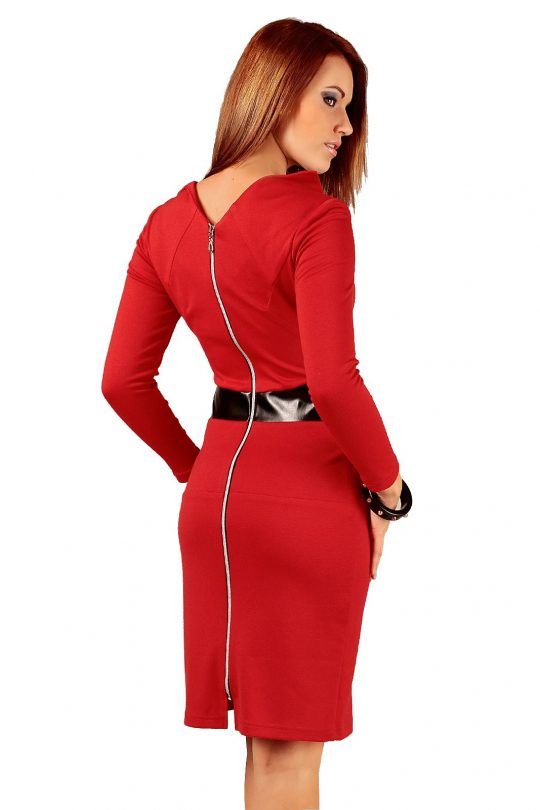 Astrid dress in red