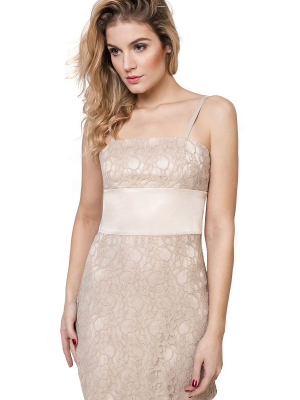 Beige Bella dress