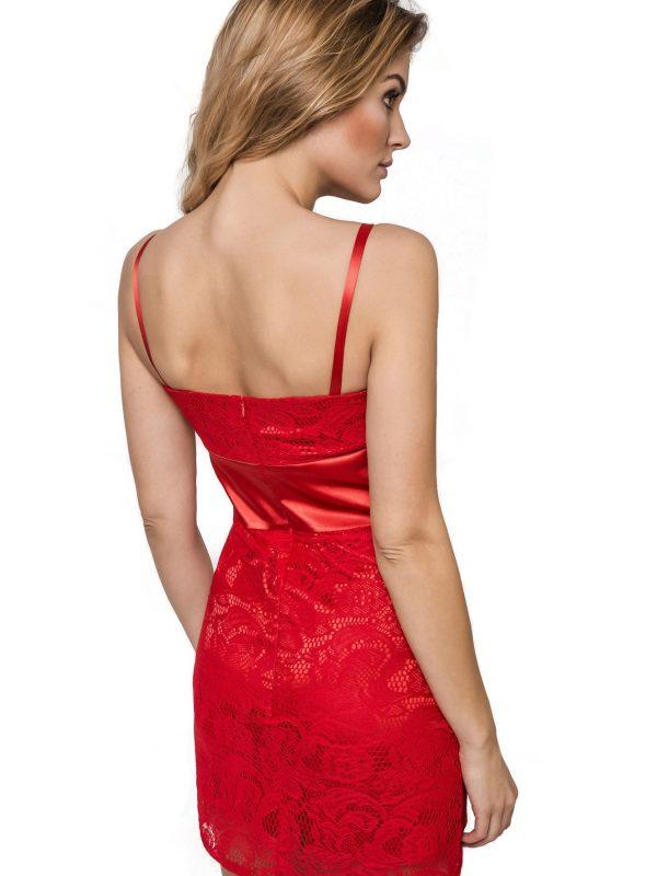 Bella dress in red