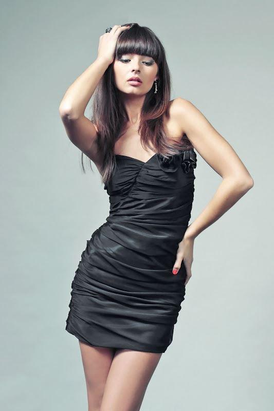 Brigitte Dress in Black