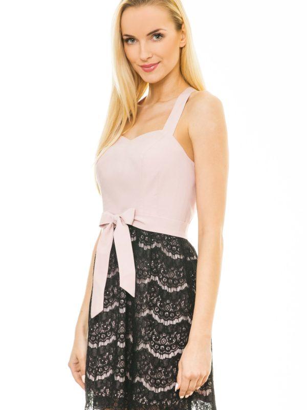Caroline Dress in powdered color