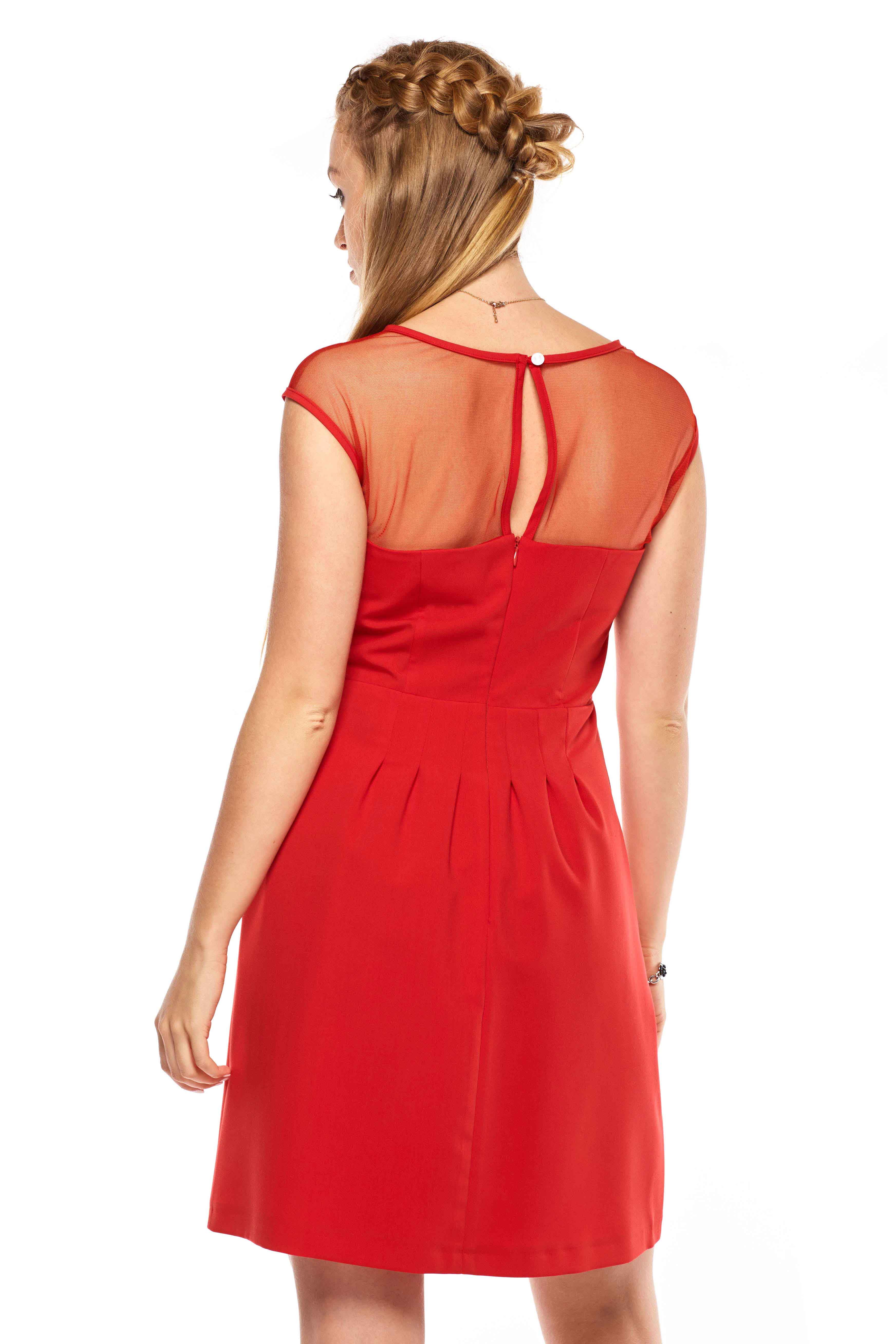 Catherine dress in red