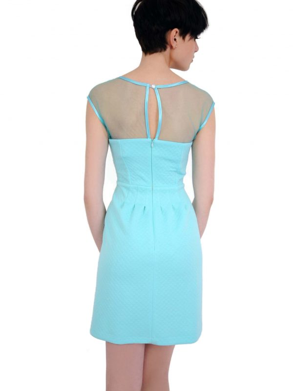 Catherine dress in turquoise