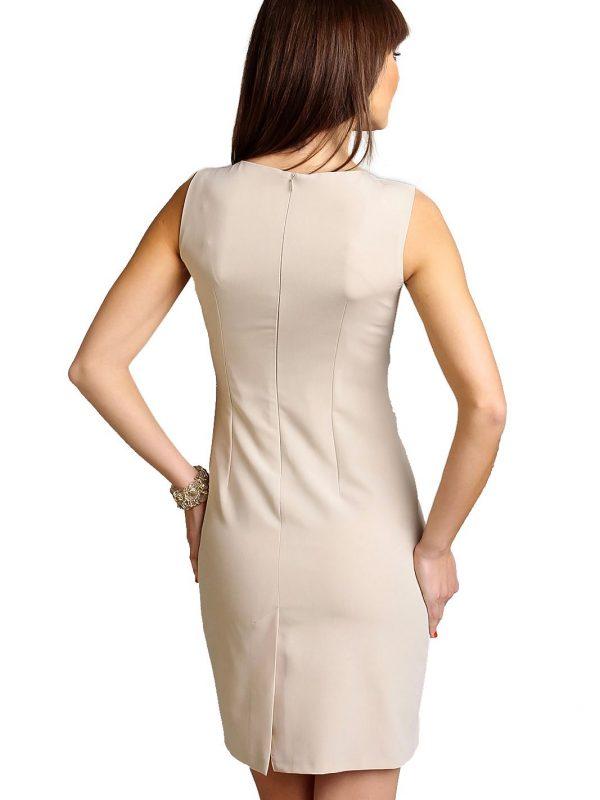 Chantale Dress in beige color