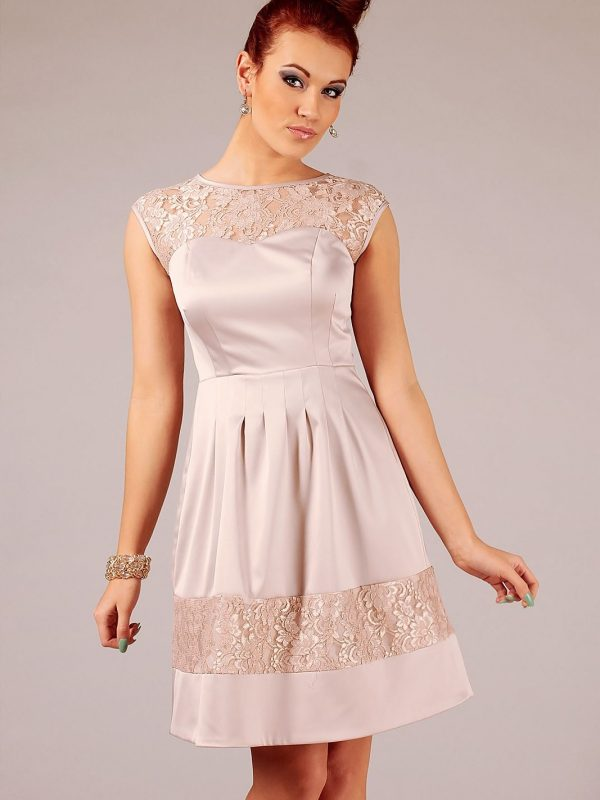 Beige Chiara dress