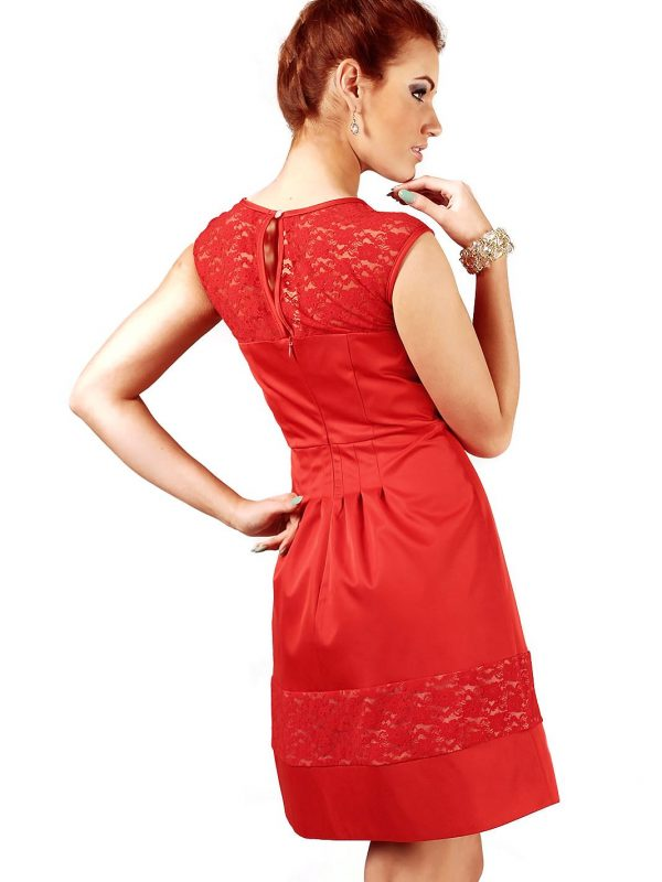 Chiara dress in red