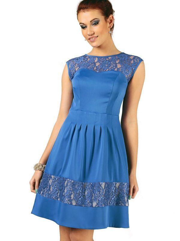 Sukienka Chiara w kolorze chabrowym