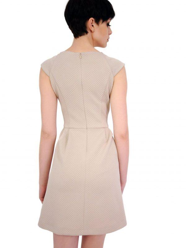 Beige Colette dress