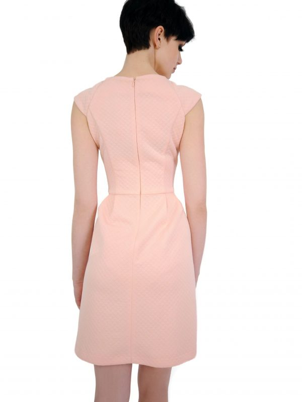 Colette dress in powder color