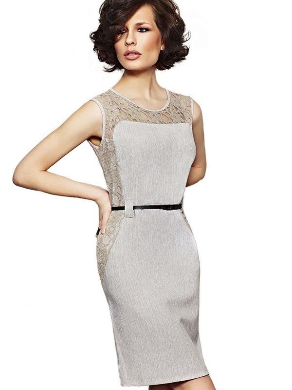 Sukienka Daria w kolorze szarym