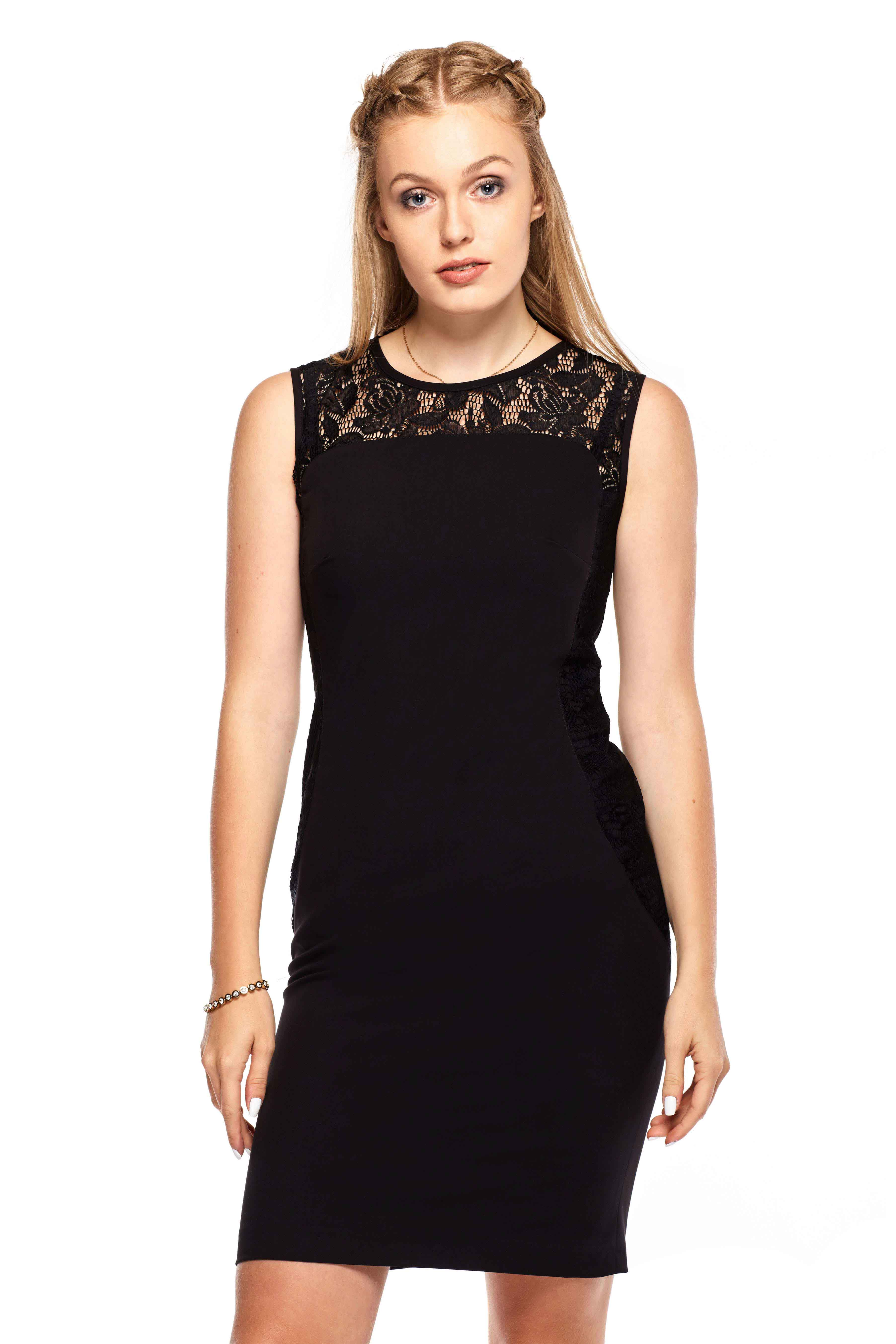Sukienka Diana w kolorze czarnym