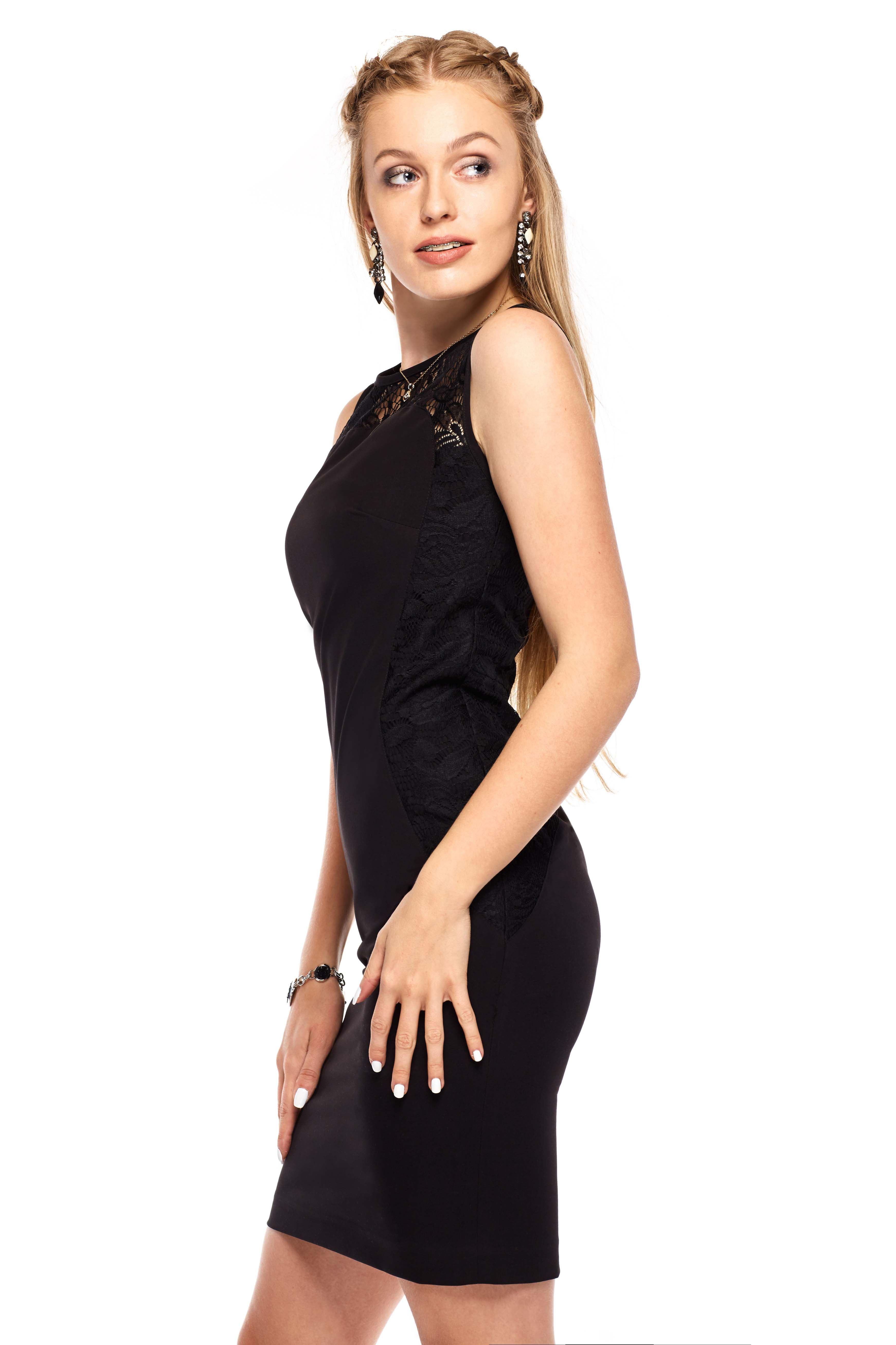 Diana dress in black