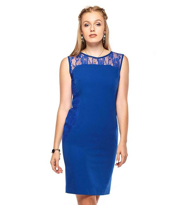 Diana dress in blue