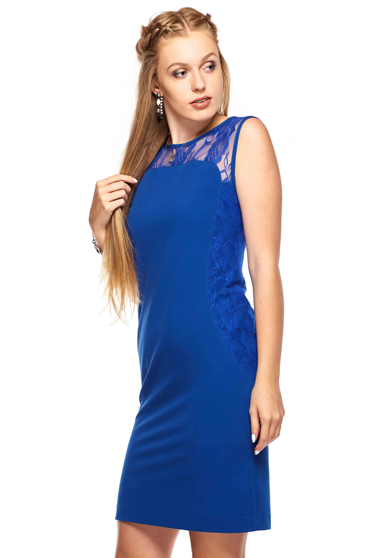 Sukienka Diana w kolorze niebieskim