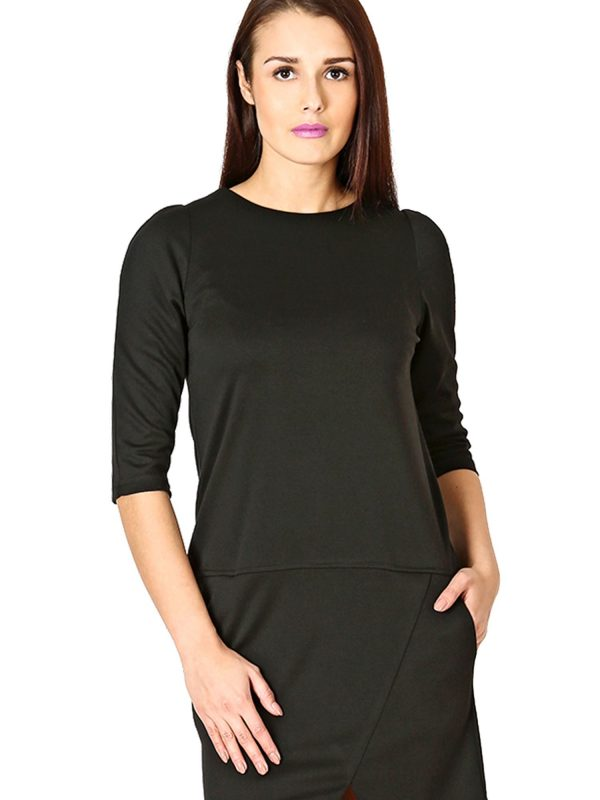 Elena dress in black