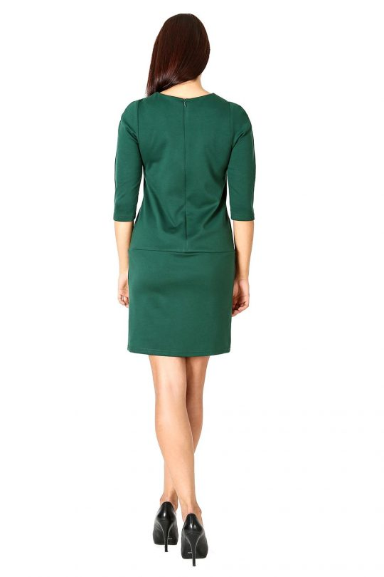 Elena dress in green