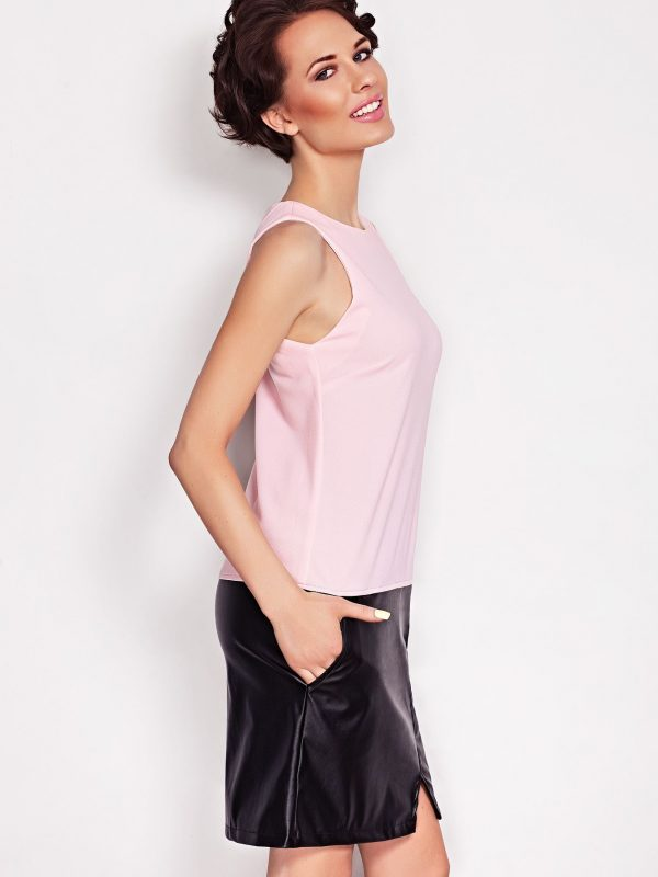 Elena Dress in powdered color
