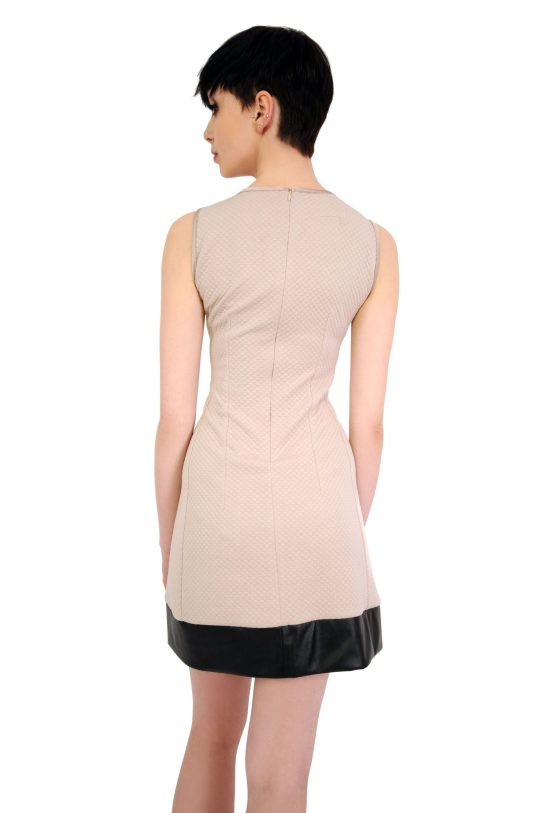 Beige Emilie dress