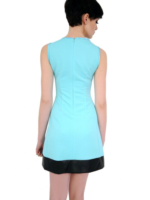 Emilie dress in turquoise